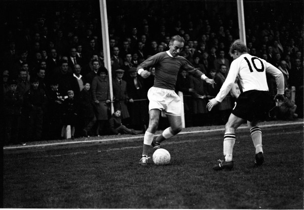 Football at Edgar Street Ground 24 09 1966